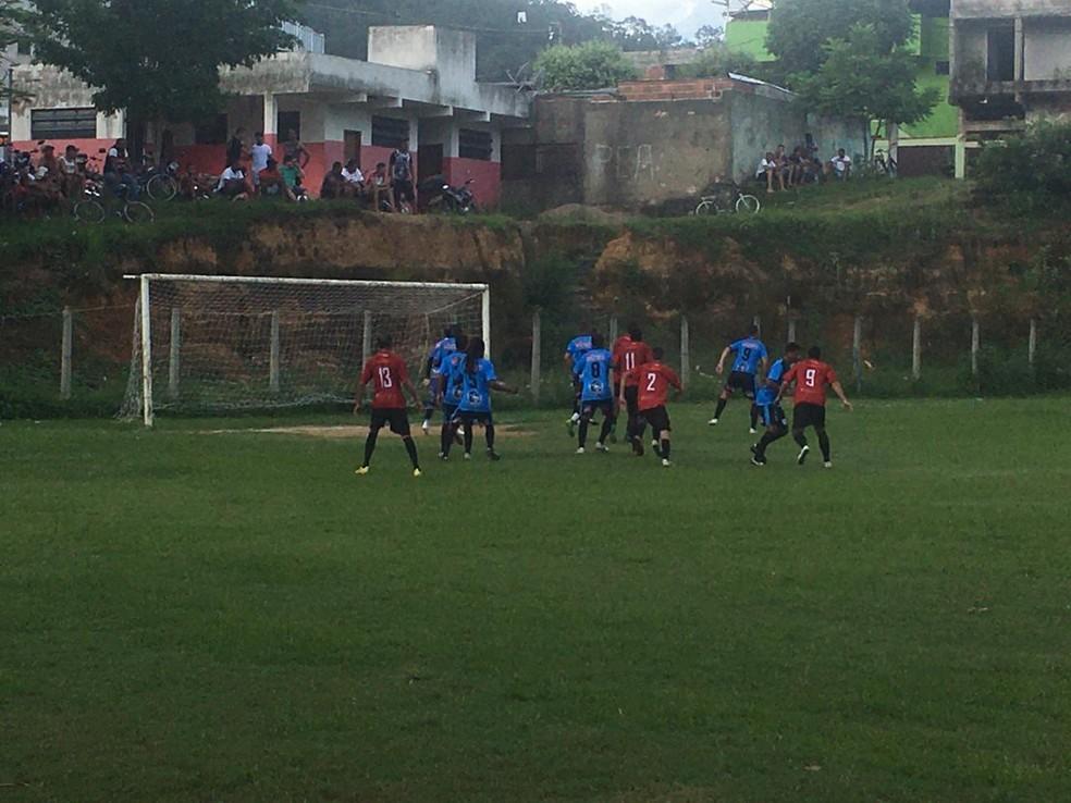 Tubarão e Independente pela segunda rodada — Foto: Futebol Clube Independente