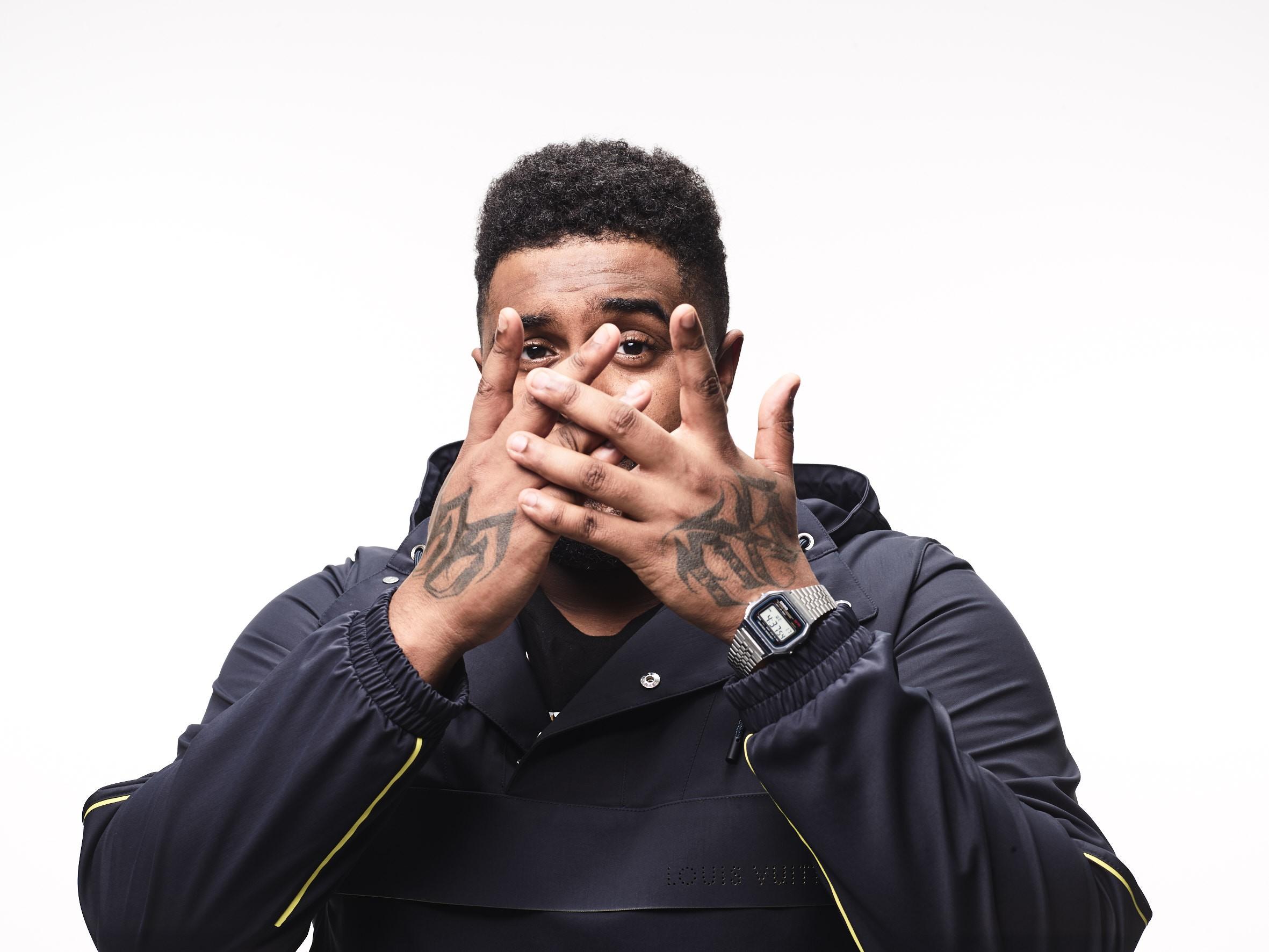 Baco Exu do Blues, o Kanye West da Bahia (mas com carisma) (Foto: Pedro Dimitrow)