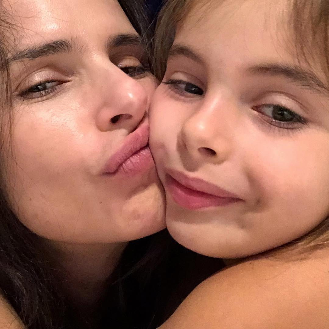 Mari e a filha, Francisca (Foto: Reprodução/Instagram)