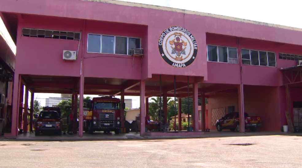 Sede do Corpo de Bombeiros Militar (CBM) do Amapá — Foto: Rede Amazônica/Reprodução