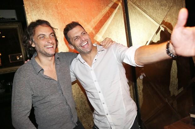 Andre Sada e  Henri Castelli (Foto: Angelo Santos)