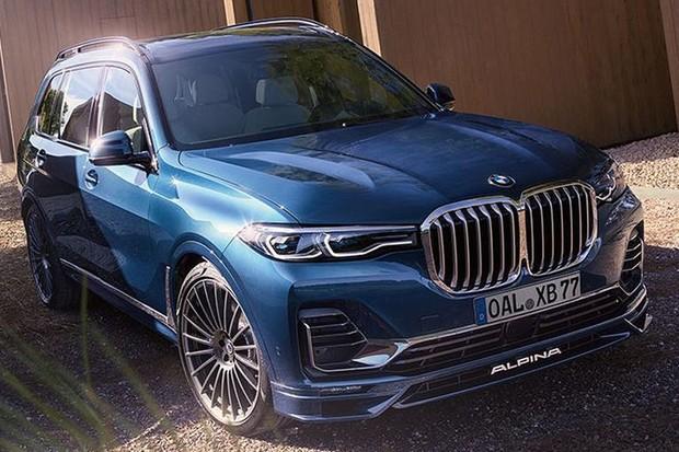 BMW X7 recebe 91 cv adicionais com preparação da Alpina, chegando a incríveis 621 cv