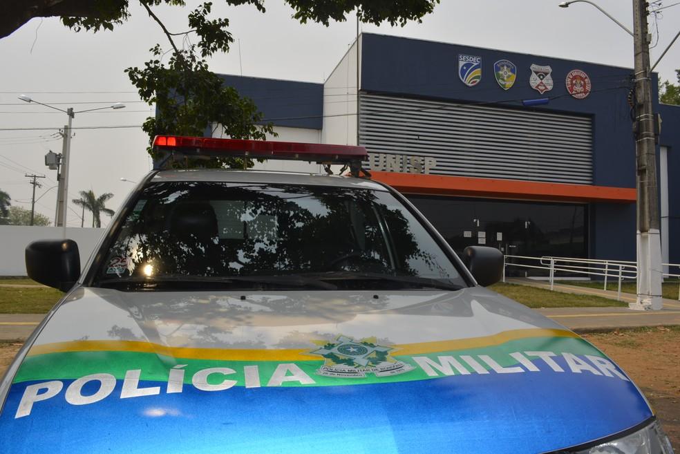 Caso foi registrado na Unisp de Ariquemes — Foto: Jeferson Carlos/G1
