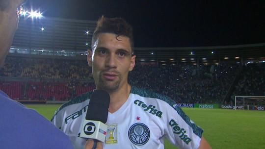 """Autor do gol do jogo, Moisés analisa vitória: """"Sofremos, poderia ter sido melhor"""""""
