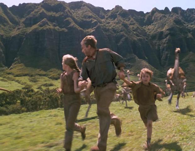 Rancho Kualoa, visto em Jurassic Park (Foto: reprodução)