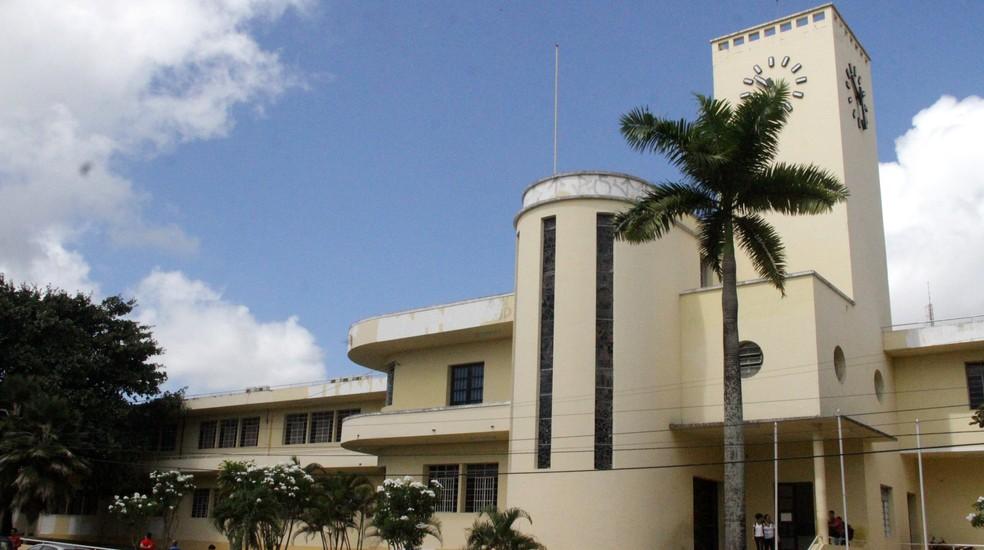 O Liceu Paraibano foi fundado em 1836 e ainda hoje está em atividade: foi onde Celso Furtado estudou em seus anos na capital paraibana — Foto: Dani Fechine/G1