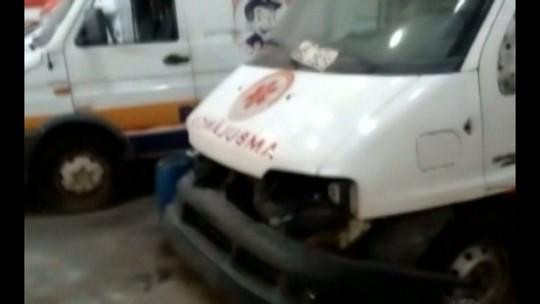Sem manutenção, ambulâncias não funcionam e pacientes ficam sem atendimento, em Belém