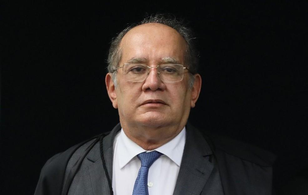 Ministro Gilmar Mendes, do Supremo Tribunal Federal, em outubro de 2019 — Foto: Nelson Jr./SCO/STF