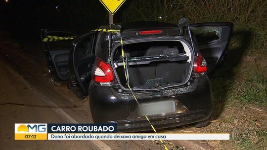 Suspeito de roubar carro é morto em troca de tiros com a PM em Contagem