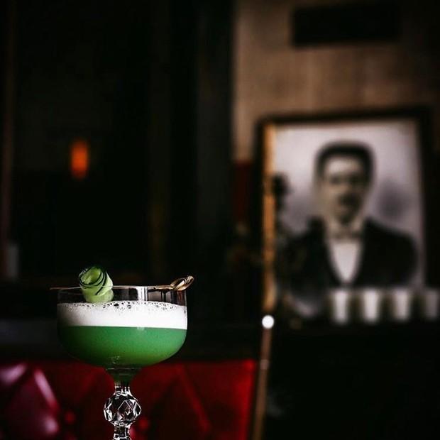 Drinque com gim e pepino, do Sertó (Foto: Divulgação)