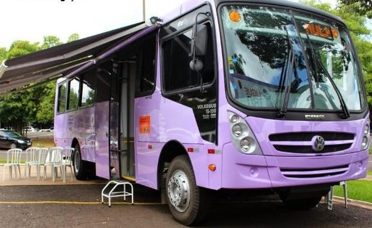 Saquarema, RJ, recebe ônibus de atendimento à mulher nesta quarta