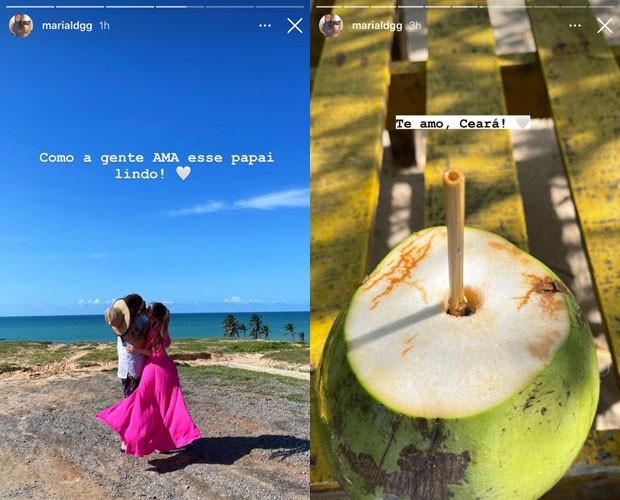 Posts de Maria Lina Deggan (Foto: Reprodução/Instagram)
