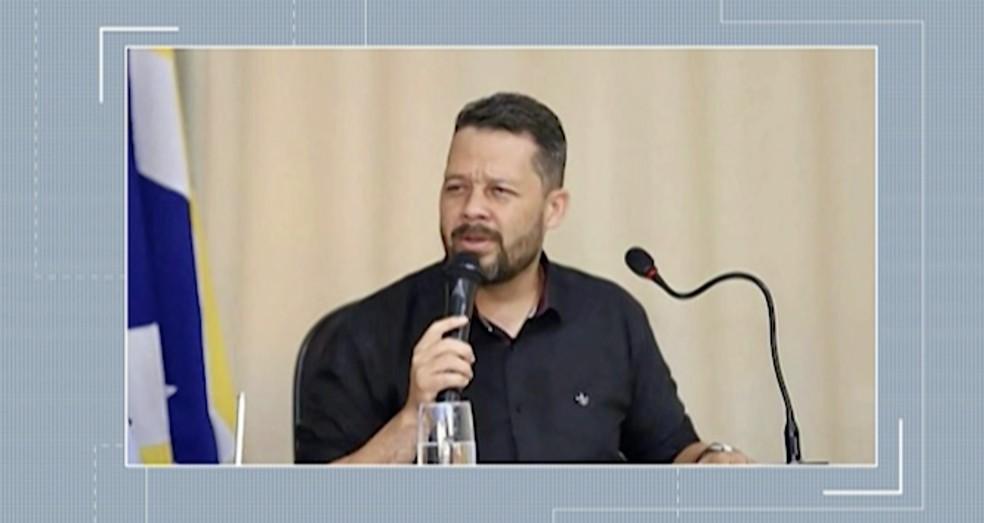 Vereador de Flores, Alberto Ribeiro morre vítima da Covid-19, em Serra Talhada — Foto: TV Asa Branca/Reprodução