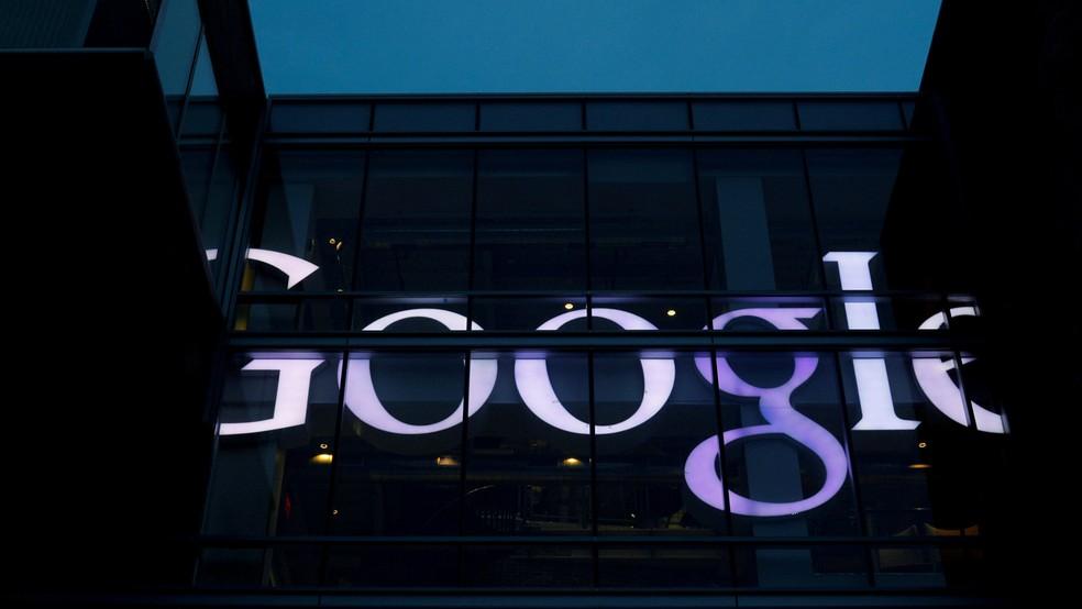 Letreiro da sede do Google em Cambridge, Massachusetts (EUA), em junho de 2017 (Foto: REUTERS/Brian Snyder/File Photo)