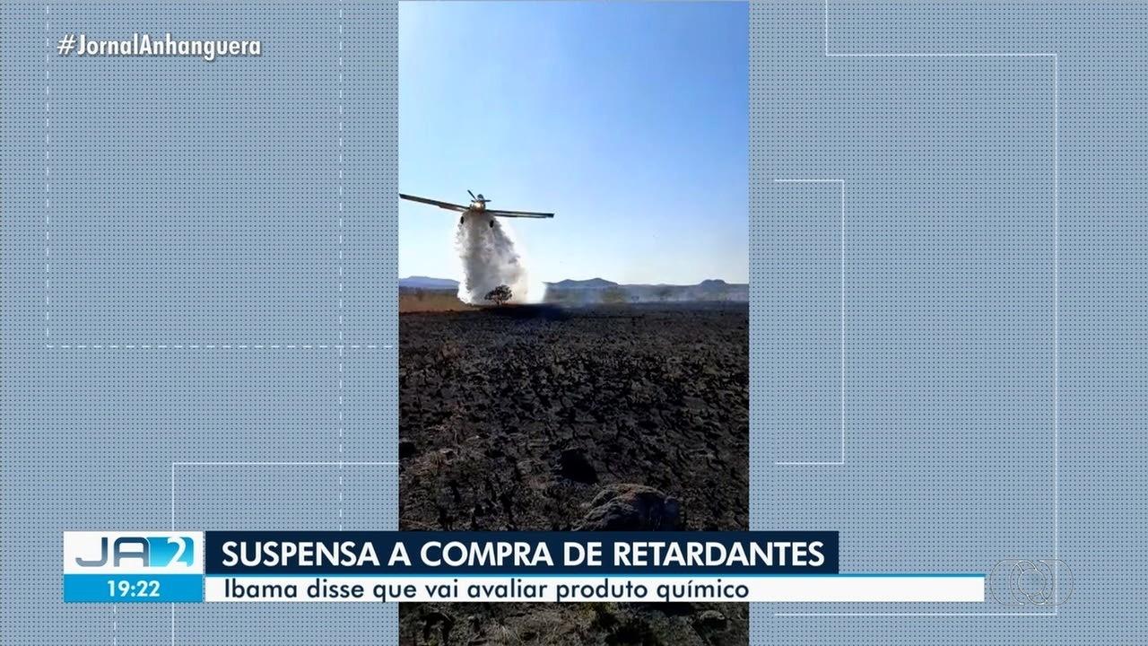 Ibama suspende compra emergencial de pó retardante usado em combate a incêndios