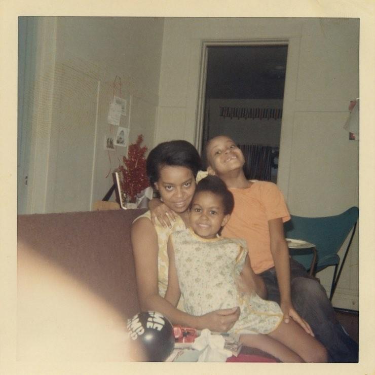 Michelle Obama com a mãe (Foto: Instagram/Reprodução)