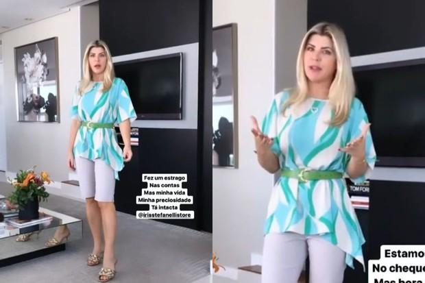 Iris Stefanelli revela ter perdido R$ 150 mil após ter celular roubado