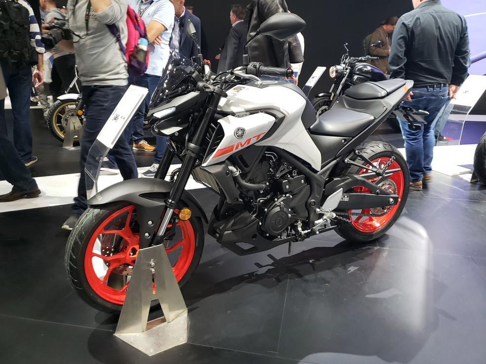 Yamaha MT-03 — Foto: Rafael Miotto/G1