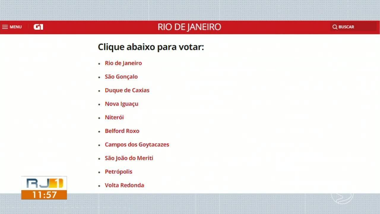 Projeto do G1 e do Bom Dia Rio quer ouvir os eleitores de Volta Redonda
