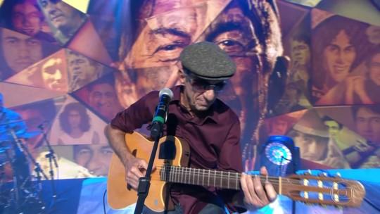 Gonzagão é homenageado por Fagner em show no Fantástico