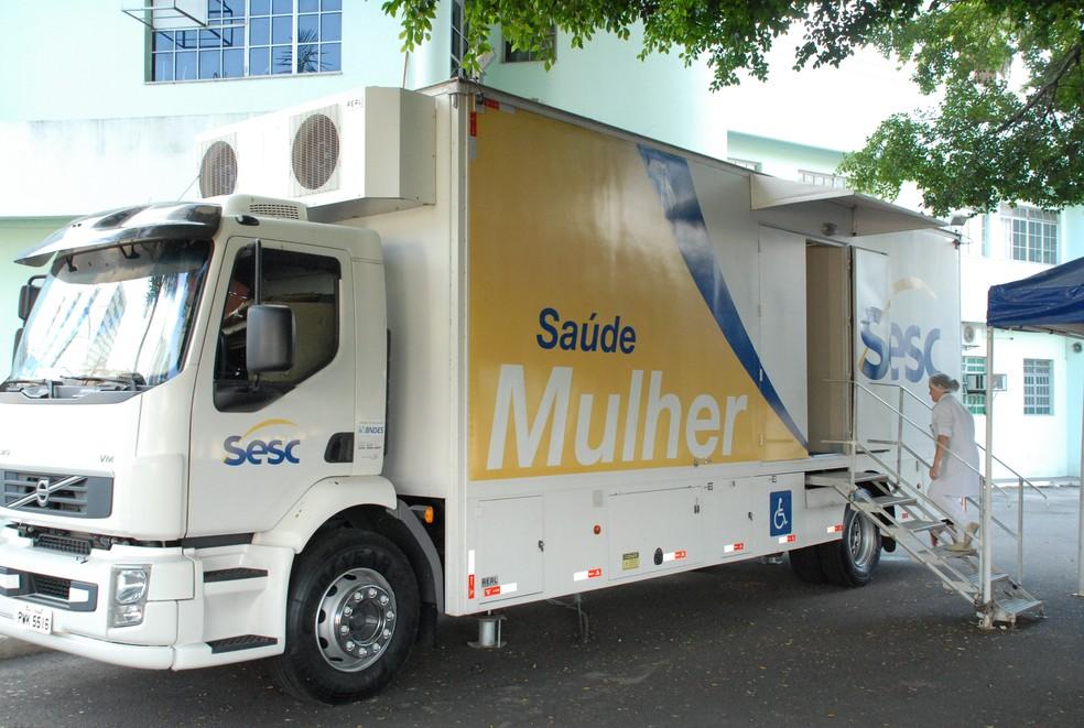 -  Exames de mamografia serão feitos pela carreta do Sesc em agosto  Foto: Prefeitura de Formiga/DiIvulgação
