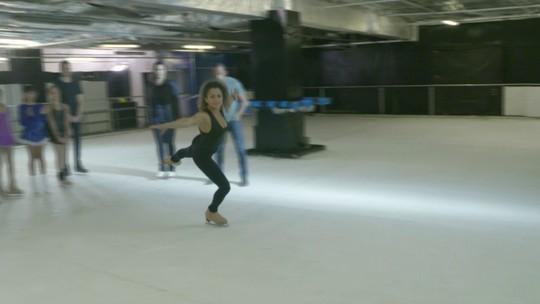 Hoje é dia de patinar: no gelo!