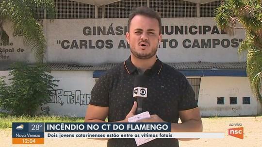 Goleiro de Indaial está entre os mortos do incêndio no Flamengo; 'Estava realizando um sonho', diz primo