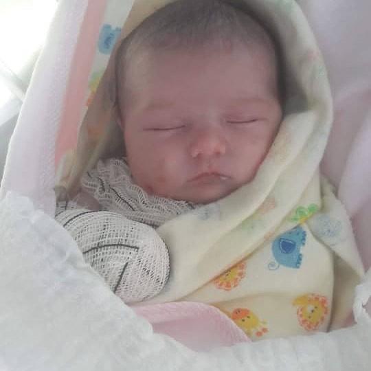 Maria Júlia ainda bebezinha (Foto: Reprodução Instagram)