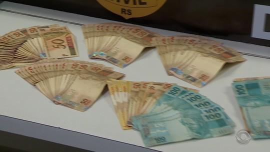 Operação da polícia contra rede de lavagem de dinheiro tem como alvo grupo comandado por presos no RS