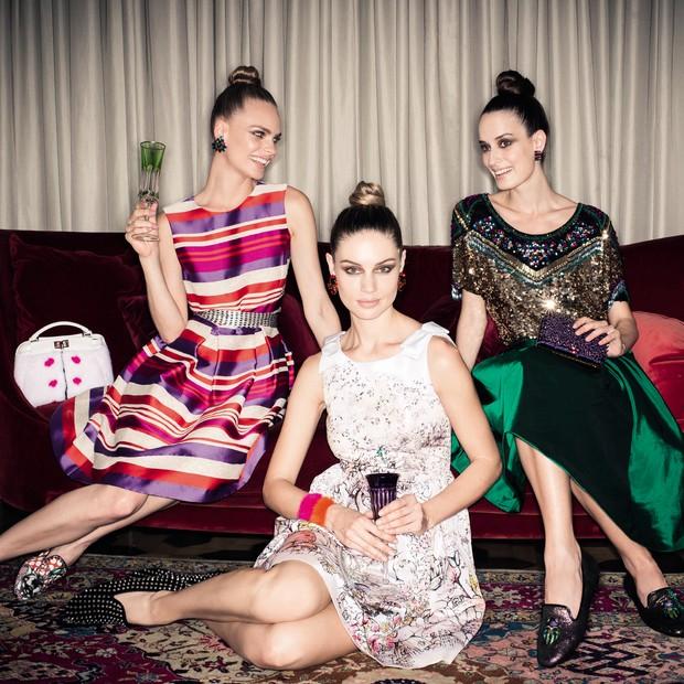 Fiéis escudeiras (Foto: Renné Castrucci/Arquivo Vogue)