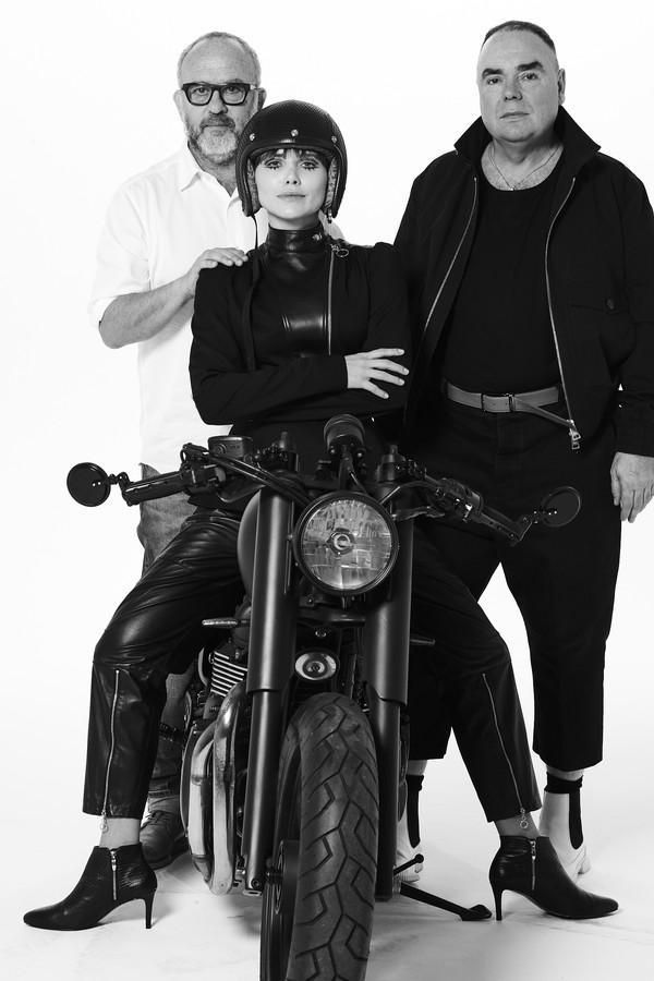 Bob Wolfenson, Letícia Colin e Reinaldo Lourenço (Foto: Divulgação)