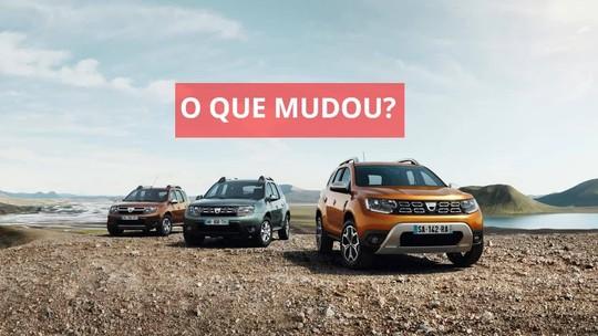 Nova geração do Renault Duster é mostrada na Europa