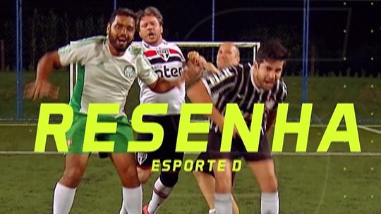 Resenha 2019: Torcedores de Santos e São Paulo pagam aposta dupla após empate