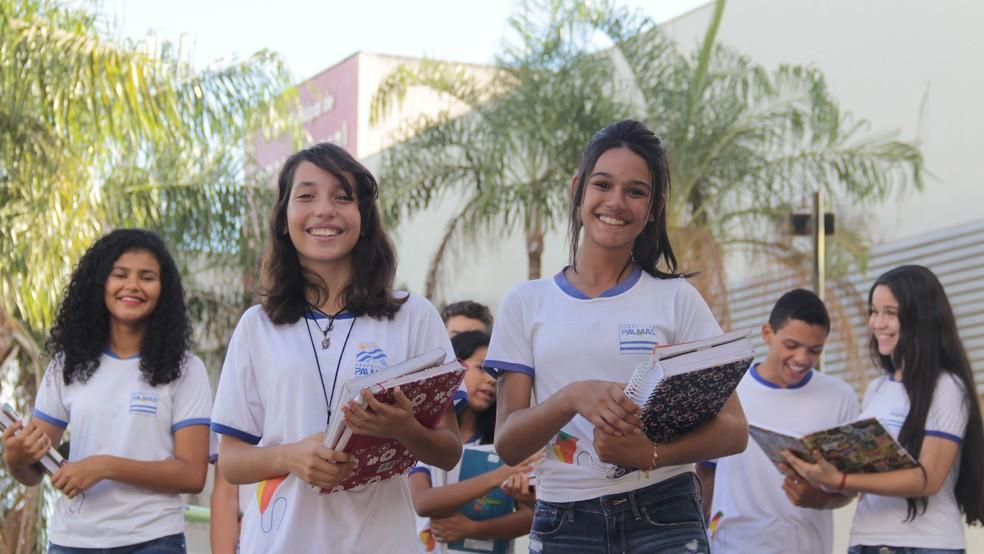 Mais de 35 mil alunos da rede municipal de Palmas voltam às aulas (Foto: Walquerley Ribeiro/Prefeitura de Palmas)