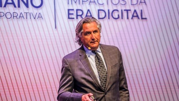 Willy Kruh, global chair de consumo & varejo da KPMG, durante o 20° Congresso do IBGC, em São Paulo (SP). (Foto: Divulgação)