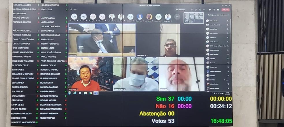 Câmara aprova reforma da Previdência do munícipio em primeiro turno — Foto: Divulgação