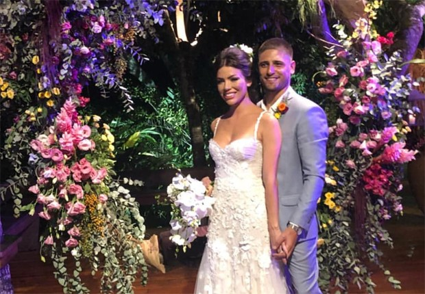 Laise Leal e Daniel Rocha (Foto: Reprodução/Instagram)