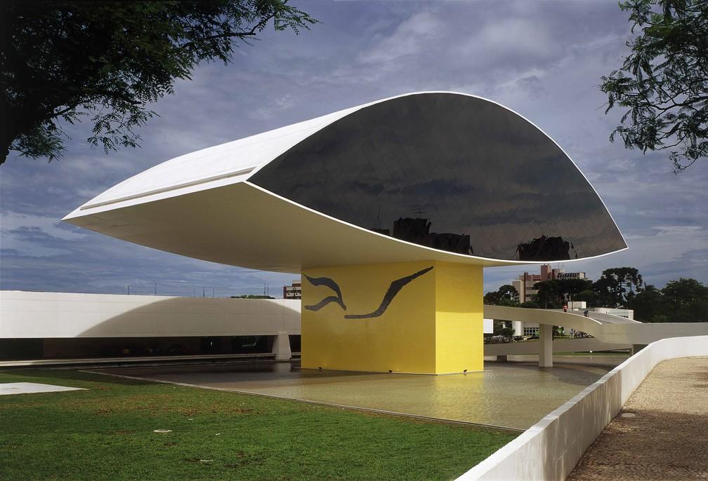 MON fica no bairro Centro Cívico, em Curitiba — Foto: Divulgação/ MON