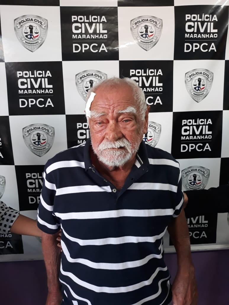Polícia prende idoso flagrado em vídeo de pedofilia no Maranhão