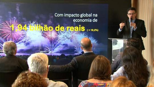 Ministro da Cultura diz que réveillon gerou R$1,94 bilhão para a economia do Rio