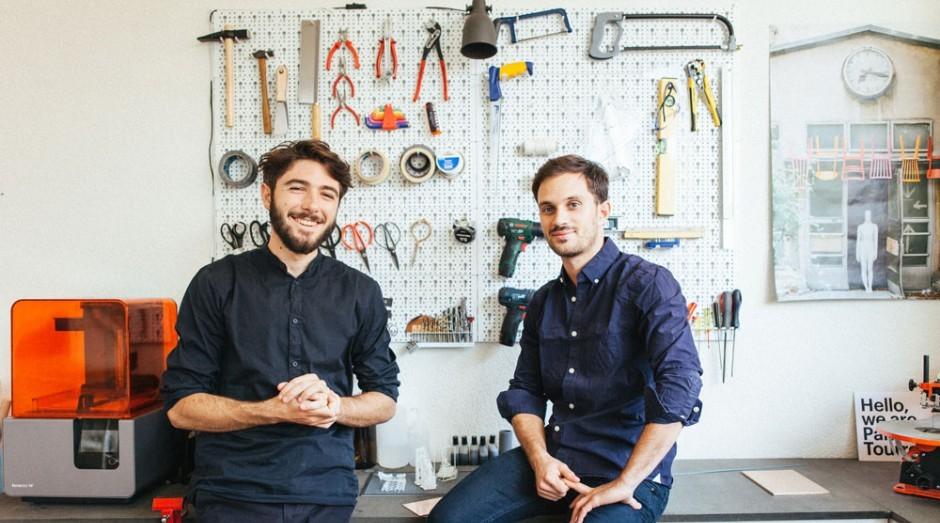 Alexis Tourron e Stefano Panterotto, fundadores da Panter & Tourron (Foto: Divulgação)