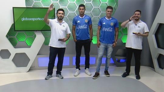 """Após boa atuação, Danilo Galvão agradece chance com Lecheva: """"Gratidão por ele"""""""
