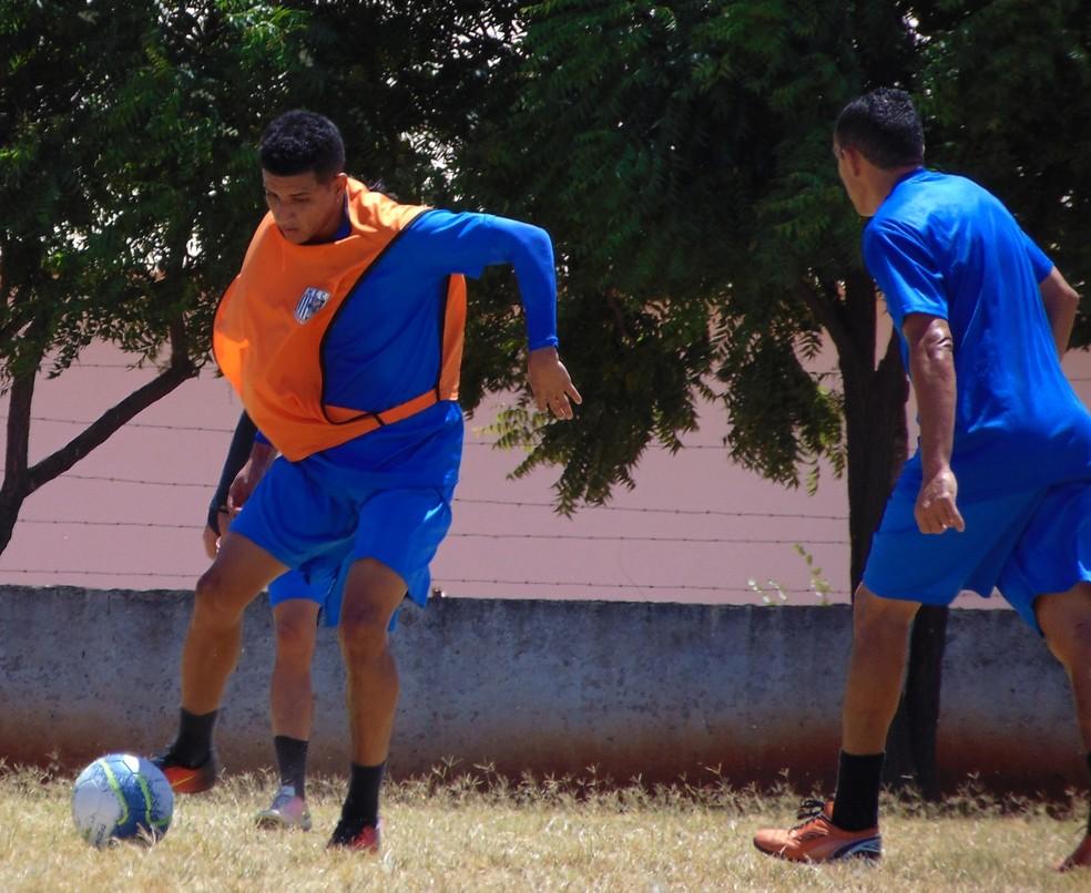 Mossoró EC já realizou três jogos-treinos (Foto: Marcelo Diaz/ Mossoró EC)
