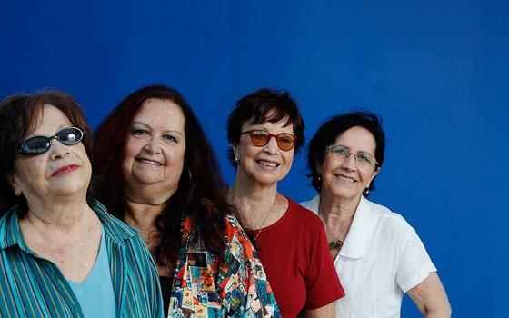 Cybele, Sonya, Cyva e Cynara, criadoras do Quarteto em Cy, em foto de 2013. Grupo gravou mais de 30 discos desde 1964 (Foto: CAMILLA MAIA / AGÊNCIA O GLOBO)