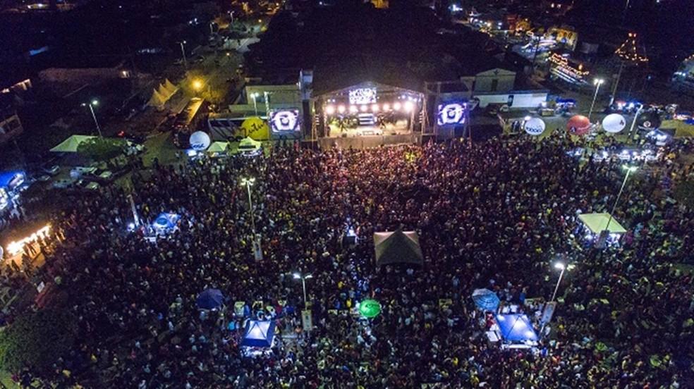 A Festa de Março deste ano foi suspensa — Foto: Divulgação
