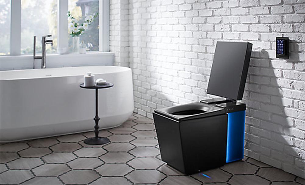 Numi é um banheiro smart recheado de recursos e de preço bem salgado (Foto: Divulgação/Kohler)
