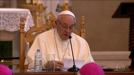 Papa pede aos líderes da América Latina que tomem medidas contra a violência
