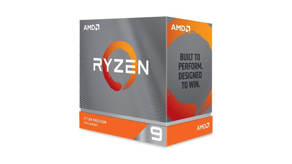 Ryzen 9 3900X é uma proposta mais equilibrada para quem quer um PC gamer também eficiente no trabalho pesado — Foto: Divulgação/AMD