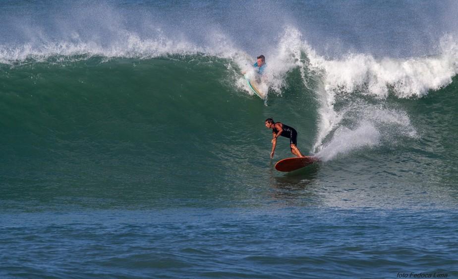 A estação do surfe!