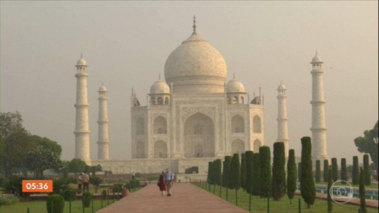 Índia reabre o Taj Mahal, o monumento mais visitado do país